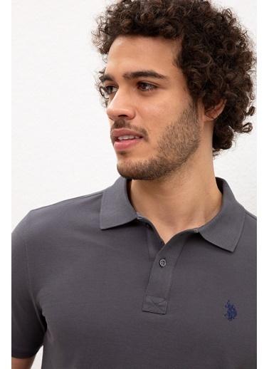 U.S. Polo Assn. Tişört Gri
